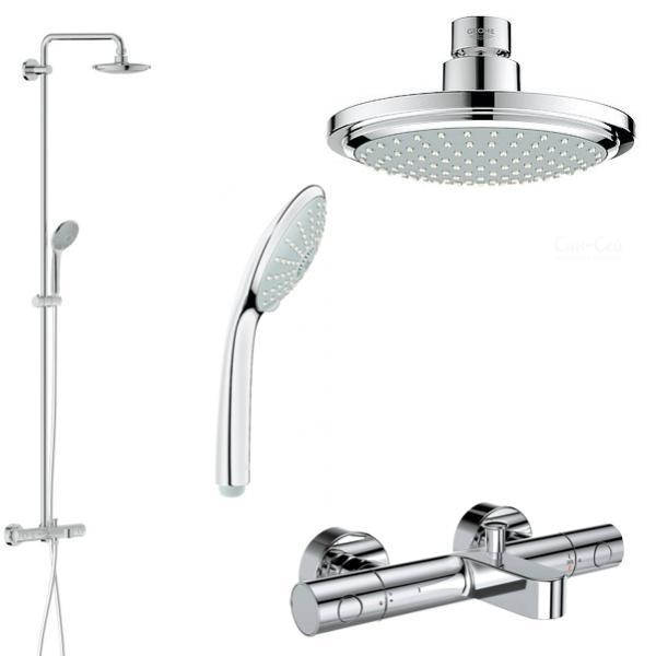 Grohe Euphoria 180 Shower System Reviews - Shower Designs