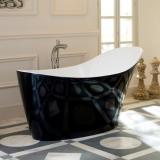 Ванна VICTORIA&ALBERT Amalfi 1640*800 черная купить