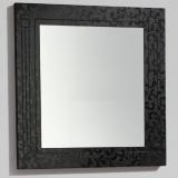 Зеркало BELBAGNO Atria 800*23*800 мм Nero Modello ATRIA-SPC-800-NM купить