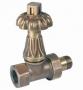 Вентиль CARLO POLETTI Artistic термостатический 1/2 бронза V68710MA купить