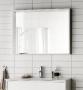 Зеркало HAFA Original 120  белый шпон 1542582 купить