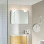 Зеркало IDEAGROUP Moon 75 см  с 2 светильниками купить