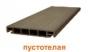 Доска террасная пустотелая ДПК DUMADECK графит 1 м. п. купить