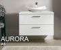 Тумба под раковину IOTTI Aurora 77,3 см белый глянцевый L18NCPE315 купить