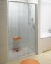 Дверь душевая RAVAK Pivot PDOP2-100 сатин/транспарент 03GA0U00Z1 купить