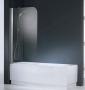 Шторка на ванну NOVELLINI AURORA-1 75*150 AURORA175S-4K купить