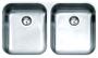 Мойка кухонная подстольная ALVEUS Duo 30 1036849 нержавеющая сталь купить