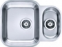Мойка кухонная подстольная ALVEUS Duo 70 1039363 нержавеющая сталь купить