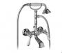 Смеситель для ванны GIULINI Praga 7501BR купить