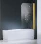 Шторка на ванну NOVELLINI AURORA-1 85*150 RAV185DLM-07275801 купить