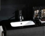 Стеклянная столешница IOTTI Time 80 см черная L10T720919 купить