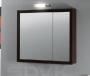 Шкаф с зеркалом IOTTI Aurora 78,7 х 70,4 х 14,6 см венге S19PA1H7LC1 купить