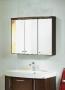 Зеркальный шкаф HAFA Spirit 90 темный дуб 1360334 купить