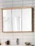 Зеркальный шкаф HAFA Original 60  шпон дуб 1542530 купить