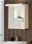 Зеркальный шкаф HAFA Relax 60 белый глянец 1452164 купить