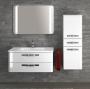 Комплект мебели CREATIVBAD Soft-2 90 см белый глянцевый купить