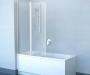 Шторка для ванны RAVAK Chrome CVS2-100 R белый+стекло Transparent 7QRA0100Z1 купить