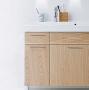 Шкафчик боковой под раковину IDO Select 297 х 620 х 320 мм орех 9830263111 купить