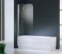 Шторка на ванну NOVELLINI Aurora 1  86*150 AURORA185D-1A купить
