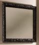 Зеркало с рамой KERASAN Retro 100*100 черное 736401 купить