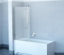Шторка для ванны RAVAK Chrome CVS1-80 L сатин+стекло Transparent  7QL40U00Z1 купить