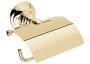 Держатель бумаги настенный с крышкой NICOLAZZI Classica бронза 1492BZ купить