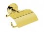 Держатель бумаги настенный с крышкой NICOLAZZI Classica золото 1492GO купить
