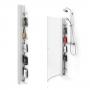 Стойка с полочками для душевого ограждения MACRO Skagen Rack 187,7 см 7388484 купить