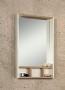 Зеркальный шкаф АКВАТОН Йорк 60 с 2 навесами белый-выбеленное дерево 1A170102YOAY0 купить