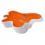 Раковина на столешницу DISEGNO CERAMICA Splash 57*41*12 мм цветная купить