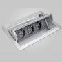 Встраиваемая розетка MEYER Netbox Axial Comfort 2XC4G0301Z купить
