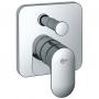 Смеситель для ванны встраиваемый IDEAL STANDARD Moments A4717AA купить