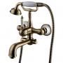 Смеситель для ванны LEMARK Villa бронза LM4812B купить