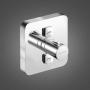 Смеситель для ванны термостатический встраиваемый KLUDI Push soft edge 388110538 купить
