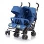 Коляска-трость для двойни BABY CARE Citi Twin blue купить