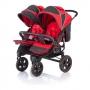 Коляска для двойни BABY CARE Cruze DUO Red купить