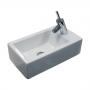 Раковина WHITE STONE Hox mini 45*25*h13 см WS05301f купить