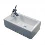 Раковина WHITE STONE Hox mini 45*25*h13 см WS05201f купить