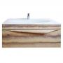 Тумба с раковиной CLARBERG Papirus Wood Elegance 100 Light Pap-w.01.10/LIGHT купить
