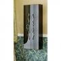Пенал подвесной CLARBERG Due Amanti 501*1200*250 черный, ручки хром Due.05.05/BLK/CR купить