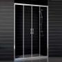 Дверь душевая в нишу VEGAS-GLASS 148-153 см Z2P 150 08 01 купить