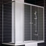 Шторка для ванны VEGAS-GLASS 150*75 см Z2V+ZVF 150*75 08 01 купить