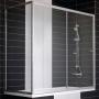Шторка для ванны VEGAS-GLASS 160*90 см ZV+ZVF 160*90 08 01 купить