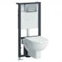 Комплект инсталляции с унитазом VITRA Form 300 SoftClose 9812B003-7203 купить