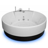 Ванна акриловая круглая AQUATIKA Колизей D. 180*69 купить