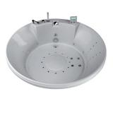 Ванна акриловая круглая AQUATIKA Арена D. 180*69 купить