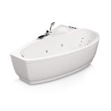 Ванна акриловая асимметричная AQUATIKA Логика 160*105*61 купить