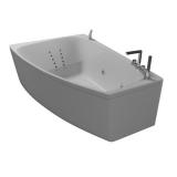 Ванна акриловая асимметричная AQUATIKA Альтея 180*120*66 купить