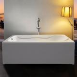 Ванна акриловая EUROLUX Помпеи 1500х700х500 купить