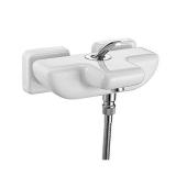 Смеситель для ванны E.C.A. Novita белый 104102447 купить